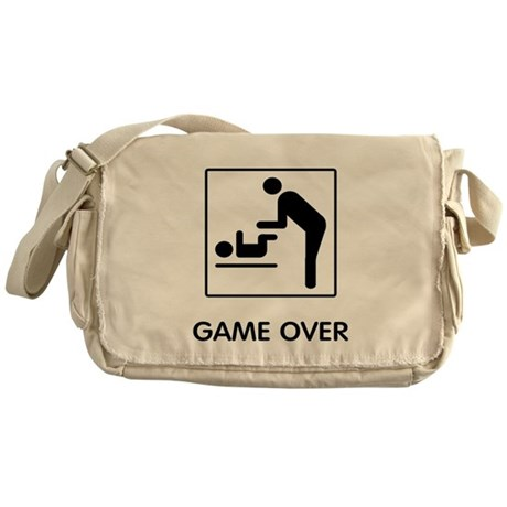 Game Over Messenger Bag