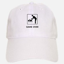 Game Over Baseball Baseball Cap