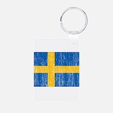 Sweden Flag Keychains