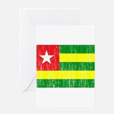 Togo Flag Greeting Card