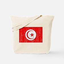 Tunisia Flag Tote Bag