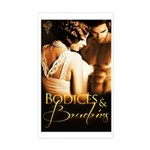 Bodices and Boudoirs Sticker (Rectangle)