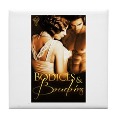 Bodices and Boudoirs Tile Coaster