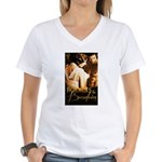 Bodices and Boudoirs Women's V-Neck T-Shirt