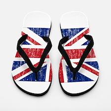 United Kingdom Flag Flip Flops