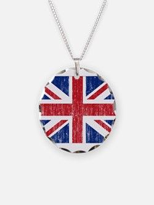 United Kingdom Flag Necklace