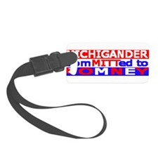 MICHIGANDER.png Luggage Tag