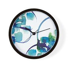 Atom Sea #9 Wall Clock