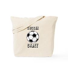 Soccer crazy Tote Bag
