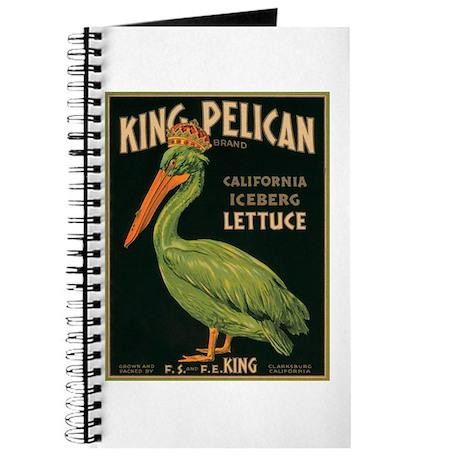 King Pelican Label Journal