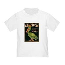 King Pelican Label T