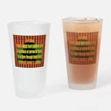 Fathers Drinking Glass