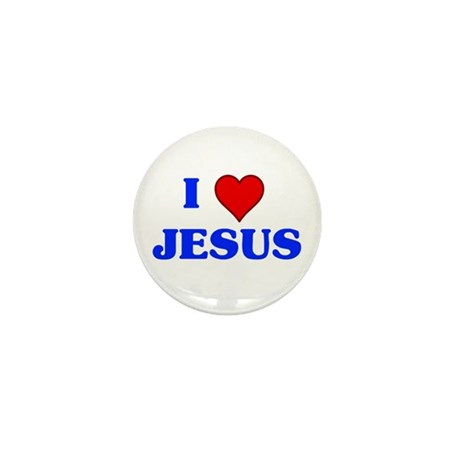 I heart Jesus button.png Mini Button (10 pack)