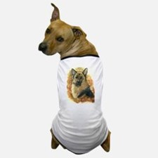 German Shepherd Artwork by Paula Cook Dog T-Shirt