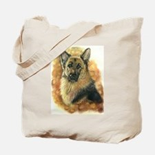 German Shepherd Artwork by Paula Cook Tote Bag