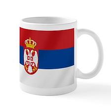 Flag of Serbia Small Mug