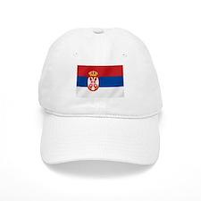 Flag of Serbia Baseball Cap