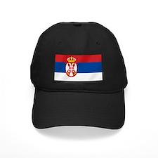 Flag of Serbia Baseball Hat