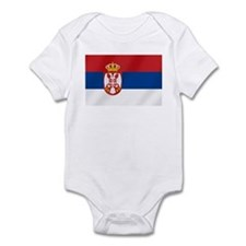 Flag of Serbia Onesie