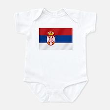 Flag of Serbia Onesie