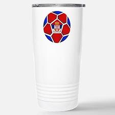 Serbia Football Travel Mug