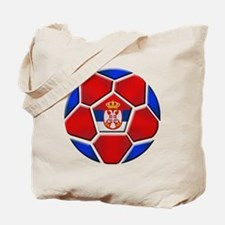 Serbia Football Tote Bag