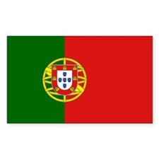 Portuguese Flag Decal
