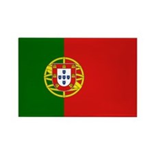 Portuguese Flag Rectangle Magnet