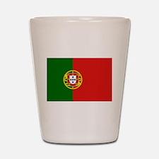 Portuguese Flag Shot Glass