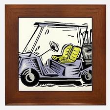 Golf34 Framed Tile