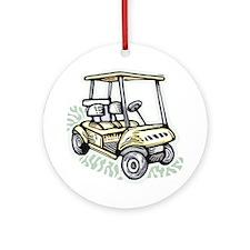 Golf34 Ornament (Round)