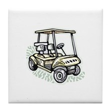 Golf34 Tile Coaster