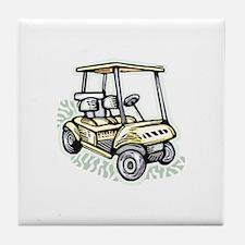 Golf34 Tile Coaster