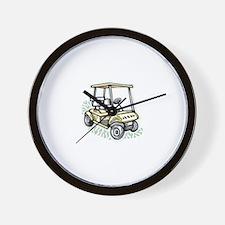 Golf34 Wall Clock