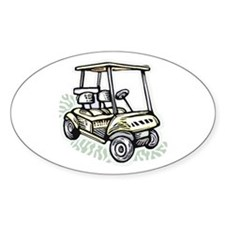 Golf34 Oval Decal