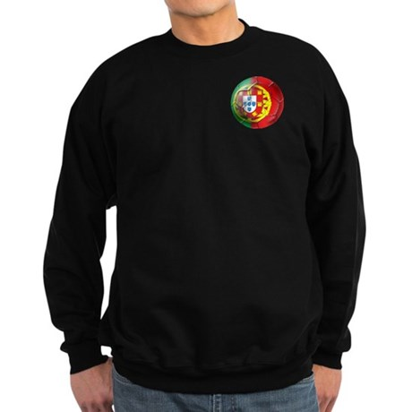 Portuguese Soccer Ball Sweatshirt (dark)