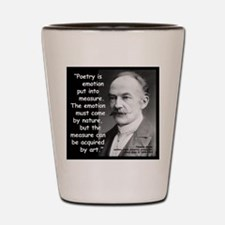 Hardy Emotion Quote 2 Shot Glass