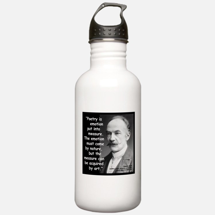 Hardy Emotion Quote 2 Water Bottle