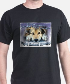 Cute Don%27t ignore animal abuse T-Shirt
