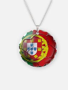 Portuguese Soccer Ball Necklace