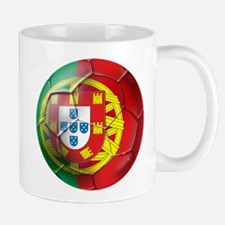 Portuguese Soccer Ball Mug