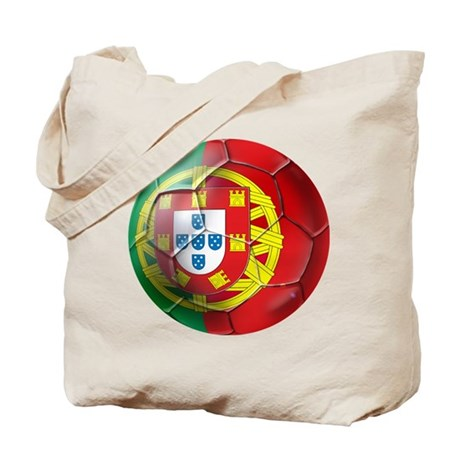 Portuguese Soccer Ball Tote Bag