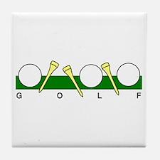 Golf40 Tile Coaster