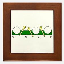 Golf40 Framed Tile