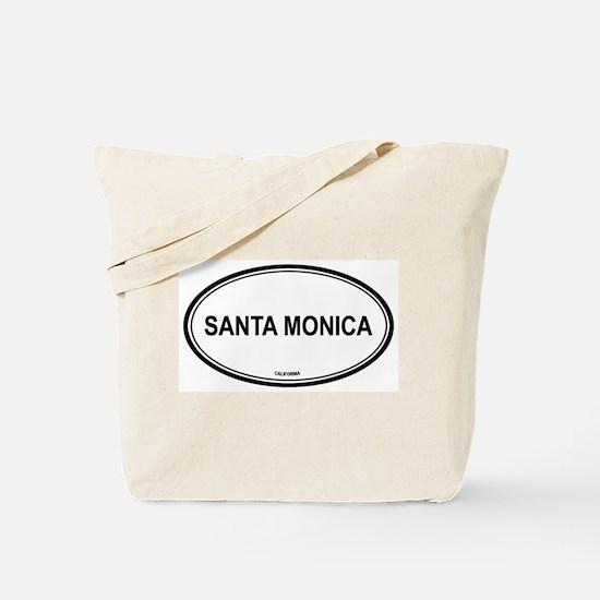 Santa Monica (California) Tote Bag