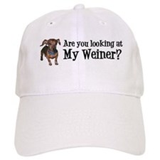 Looking at my weiner? Baseball Cap