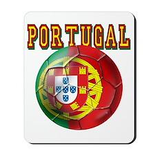 Portuguese Futebol Mousepad