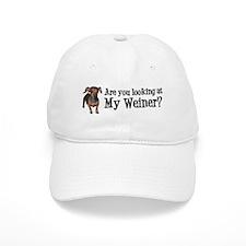 Looking at my weiner? Baseball Cap