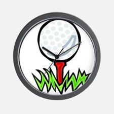 Golf41 Wall Clock