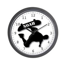 NOAH - Skateboard Wall Clock